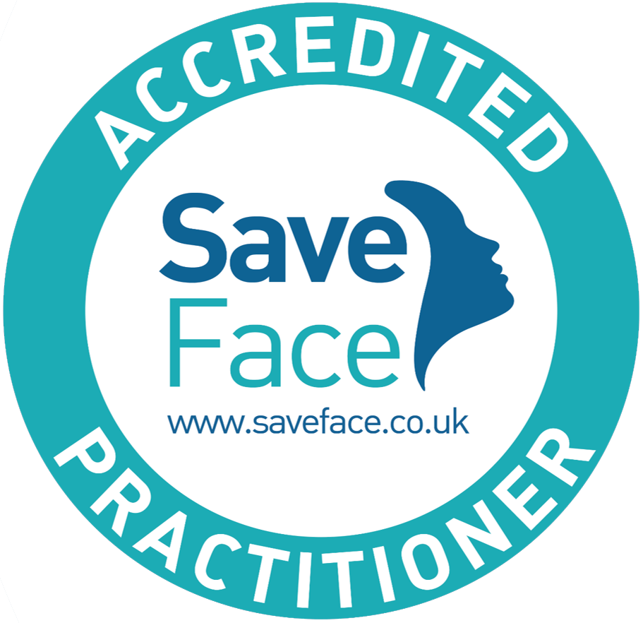 Save Face accredited stamp
