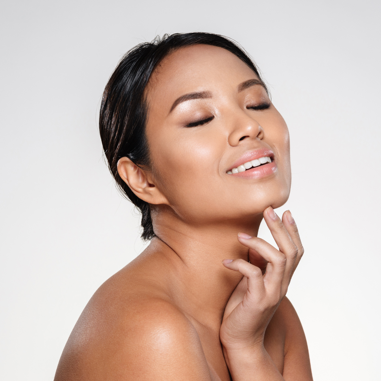 Skin booster treatments patient